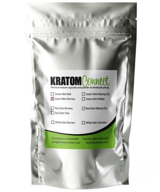 Green Vein Borneo Kratom Powder