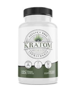Nature's Best Kratom Thai Capsules